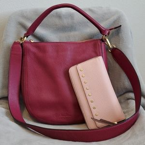 Sam Edelman Leather Convertible Shoulder Bag
